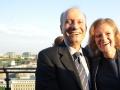 Der JNF-KKL Delegierte Dr. Schaul Chorev und JNF-KKL Vize-Präsidentin Ayala Nagel