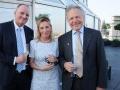 v.l.n.r. Ulrich Platte - Panscosma SA Schweiz und Green Business Circle Steering Committee, Heike Hausweiler - JNF-KKL Green Business Circle, Chairman Prof. Dr. Konrad Reinhart - Global Sepsis Alliance