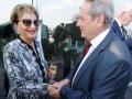 Raya Strauss Ben Dror und Paul Jurecky, Geschäftsführer JNF-KKL Deutschland