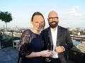 Zu Gast beim JNF-KKL Green Business Circle: Rimma Kadyrbayeva und Axel Wallrabenstein - MSL Group