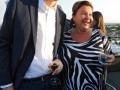 Conrad Clemens von der Jungen Union mit JNF-KKL Präsidentin Sarah Singer