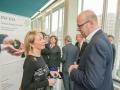 Heike Hausweiler, JNF-KKL und Dr. Johannes Bohnen, Atlantische Initiative