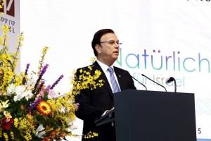 KKL-JNF Weltpräsident Efi Stenzler